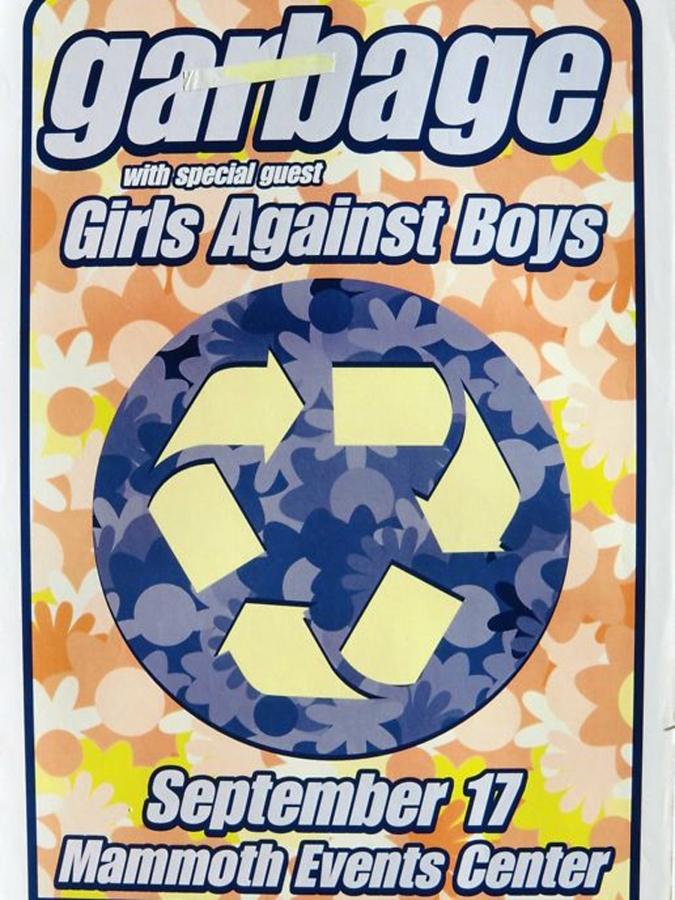 Garbage  North American Tour Poster