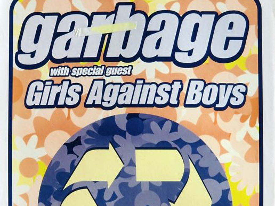 Garbage 1998 North American Tour Poster