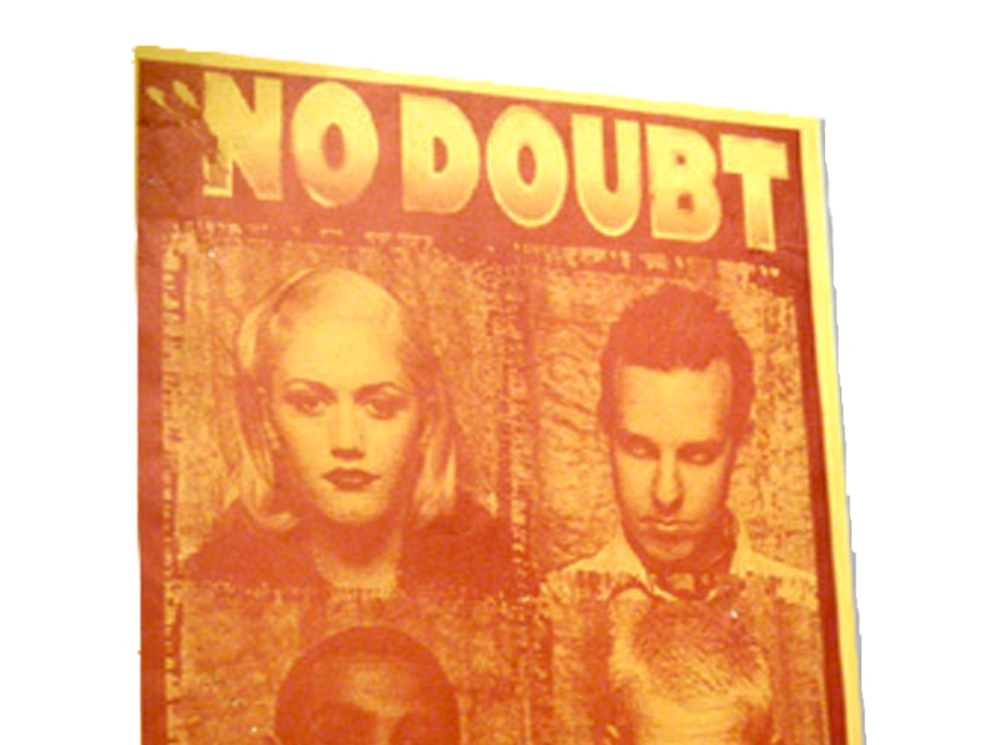No Doubt 1997 Tour Poster