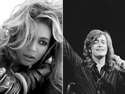 Beyonce Robin Gibb tribute death Emotion Destiny's Child