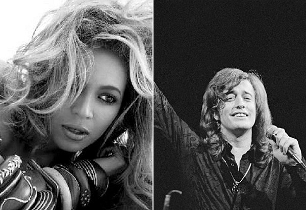 Beyonce Robin Gibb tribute death Emotion Destiny's Child