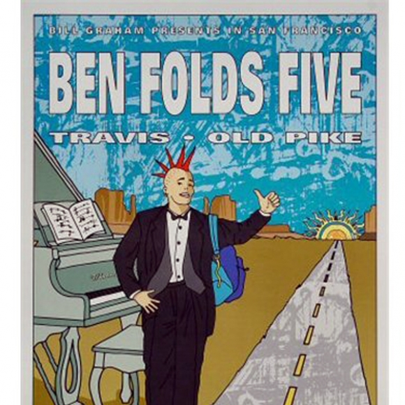Ben Folds Five 1997 Tour Poster