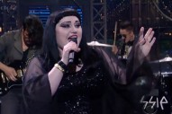 "Gossip Perform ""Move In The Right Direction"" On 'Letterman': Watch"