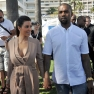 Kim Kardasian Kanye West Cannes France