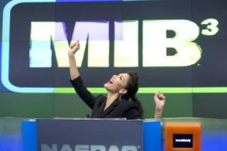 Nicole Scherzinger Hits Wall Street To Promote 'Men In Black 3′