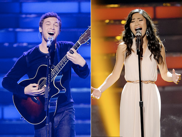 Phillip Phillips Jessica Sanchez American Idol season 11