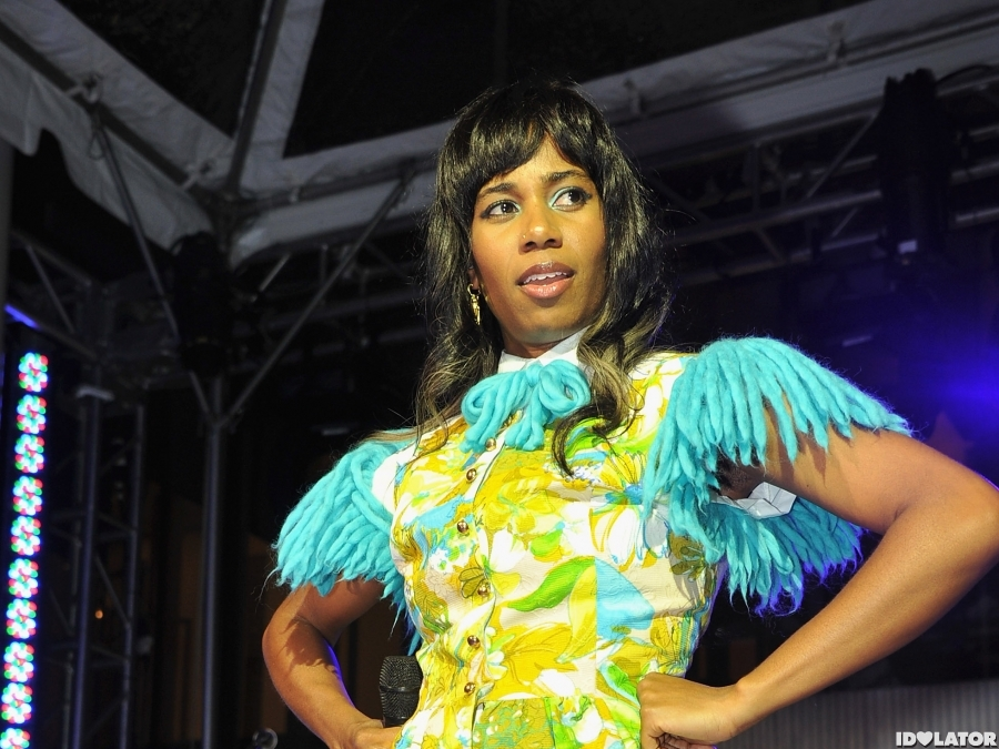 Santigold Performs At The 2012 MoMA Party In The Garden Benefit