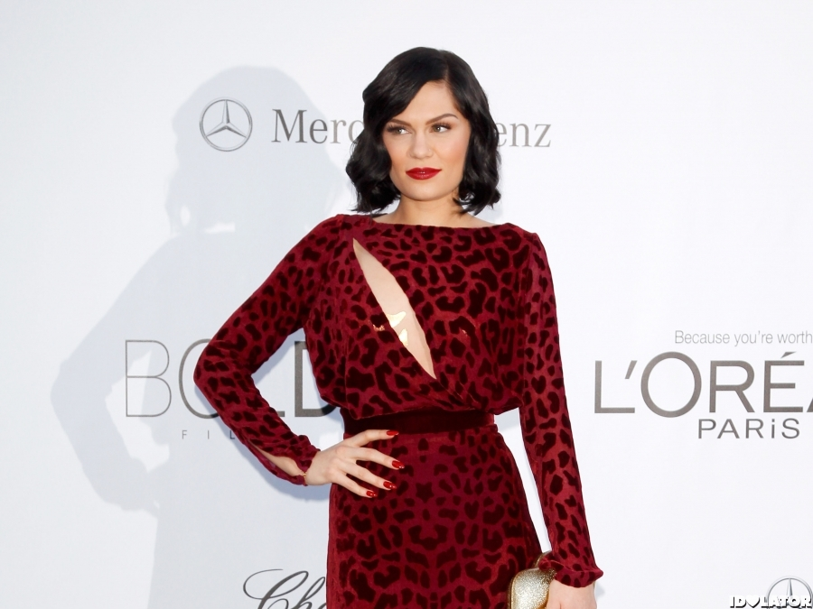 Jessie J Arrives At 2012 amFAR Cinema Against AIDS