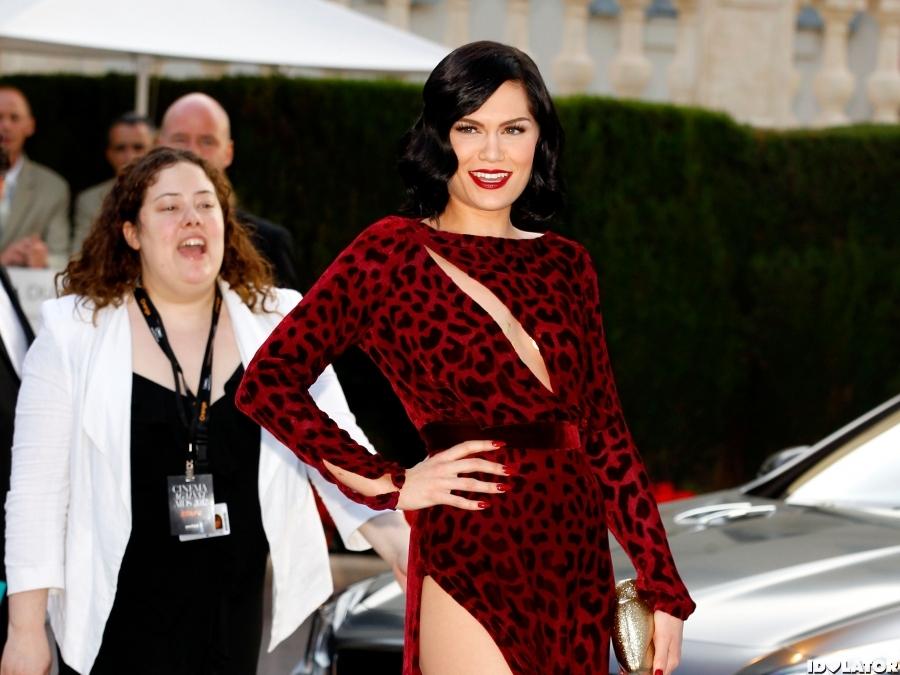 Jessie J Arrives At 2012 amFAR Cinema Against AIDS