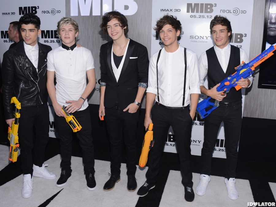 One Direction Attend The 'Men In Black 3' Premiere