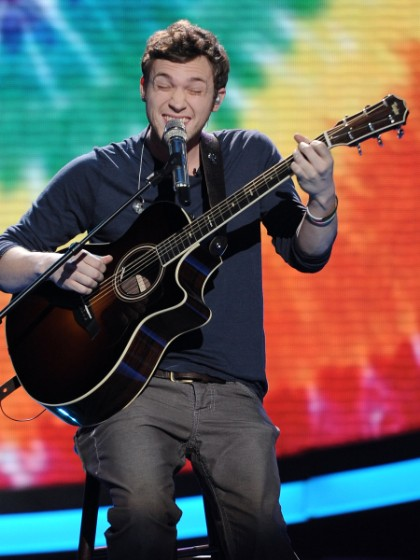 Phillip Phillip's Best Singing Faces On 'American Idol'