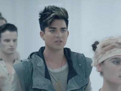 Adam Lambert Never Close Our Eyes music video
