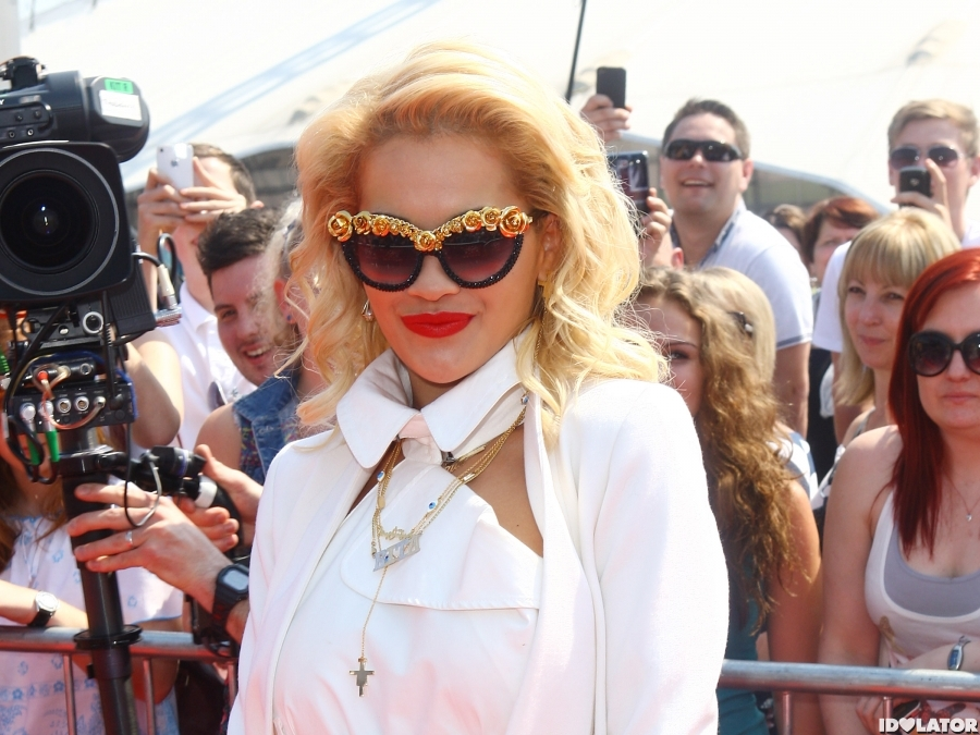 Rita Ora: 'The X Factor' Auditions In London