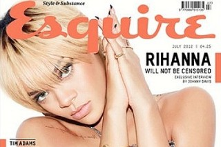 Rihanna Goes Topless For 'Esquire' UK