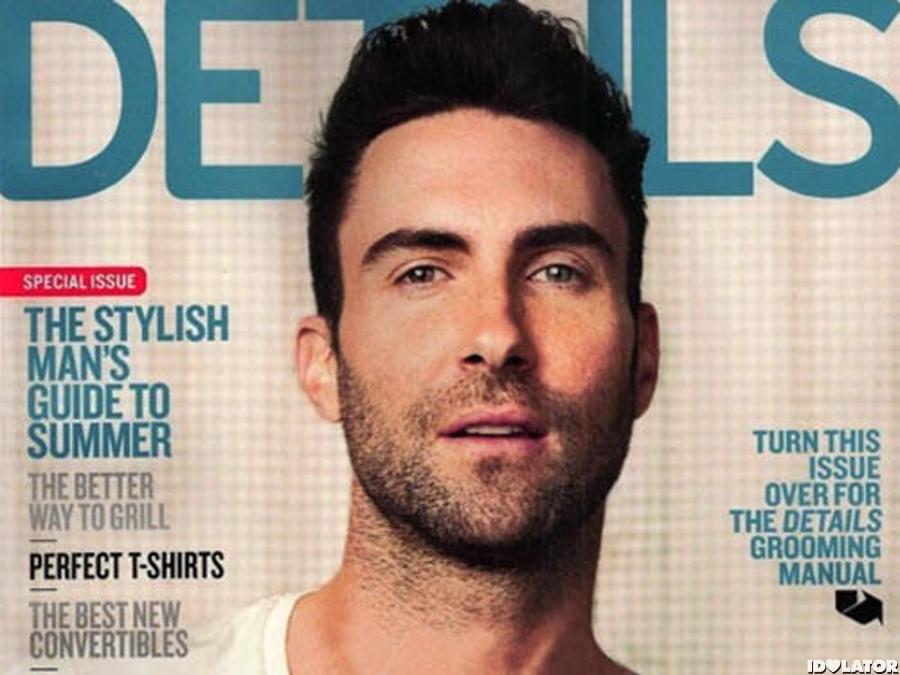 Adam Levine: 'Details' Magazine