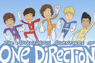 One Direction Get Animated In Cartoon Fan Fiction