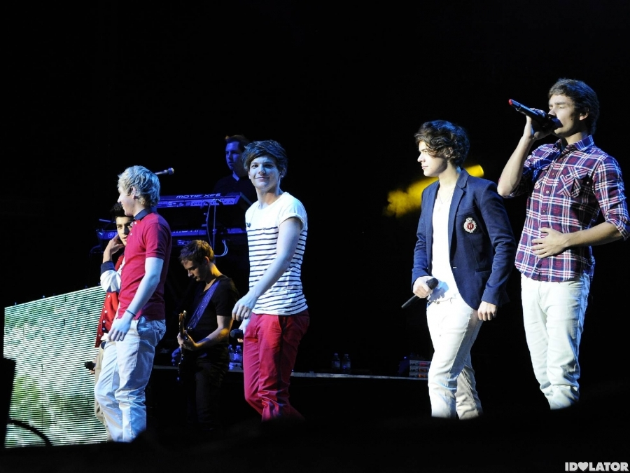 One Direction Invade's Toronto's Molson Amphitheatre