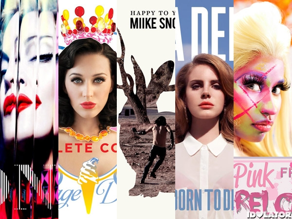 Idolator's Most Disappointing Albums of 2012 so far
