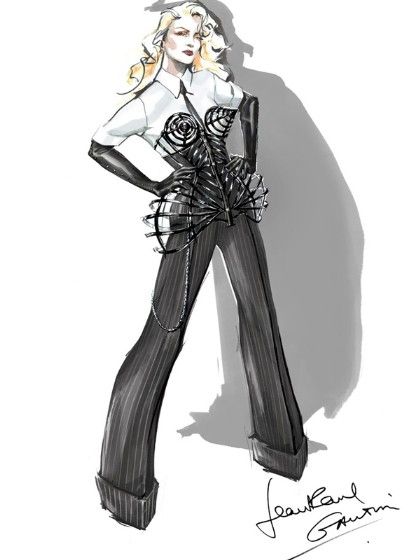 Madonna's MDNA Tour Costumes