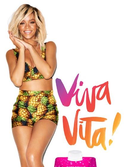 Behind The Scenes Of Rihanna's Vita Coco Shoot