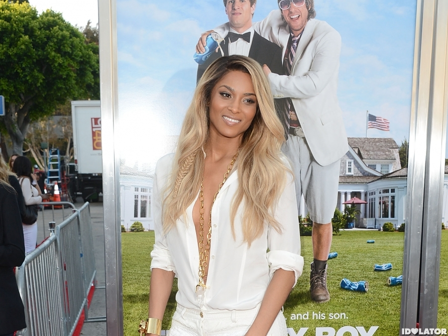 Ciara Arrives At The Premiere Of 'That's My Boy'