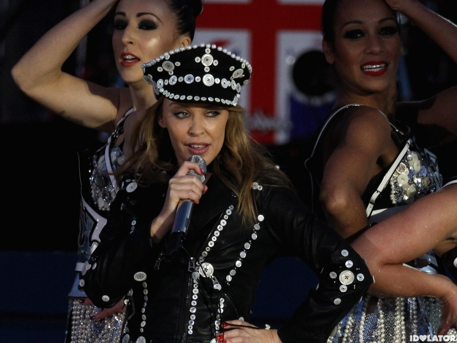 Kylie Minogue Performs At The Diamond Jubilee