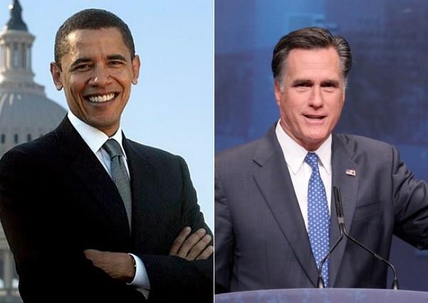 President Barack Obama Mitt Romney