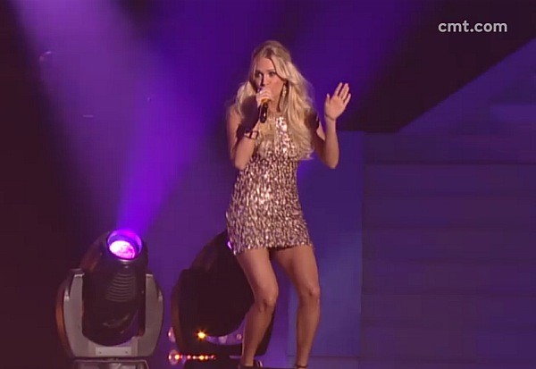 Carrie Underwood 2012 CMT Music Awards Good Girl