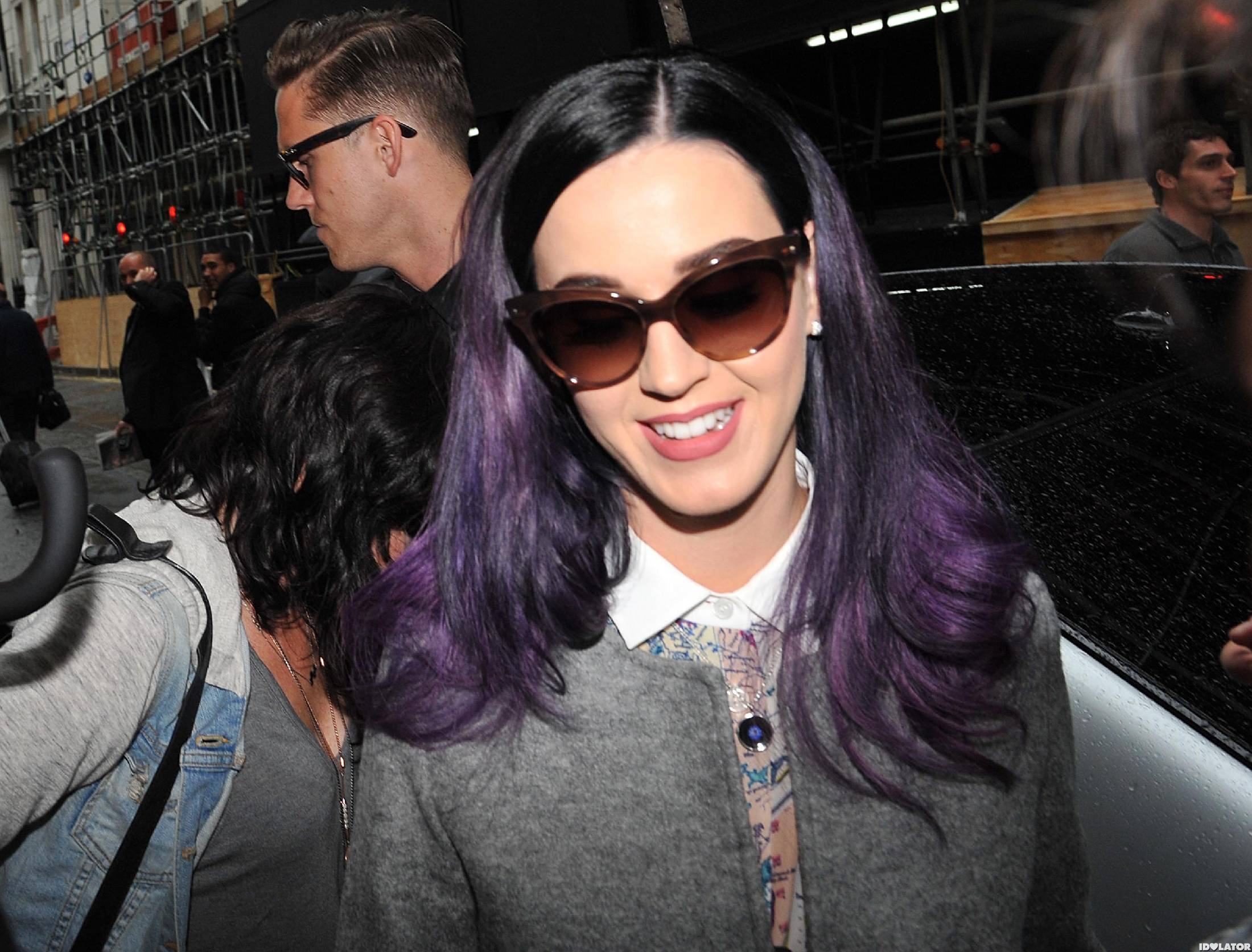 Katy Perry & Robert Ackroyd In London