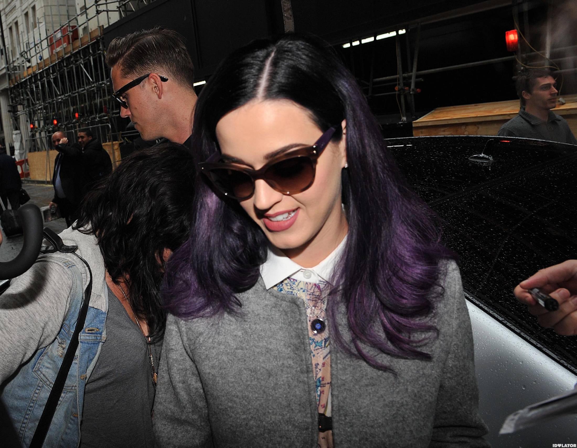 Katy Perry & Robert Ackroyd In London