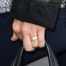 Miley Cyrus LAX Engagement Ring