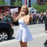 Britney Spears Wears White To 'The X Factor' Kansas City Auditions