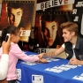 Justin Bieber meet and greet New York City
