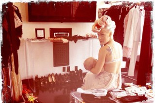 Pink Dons A Bra And Her Baby For New Album Cover Shoot: Morning Mix