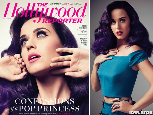 katy perry hollywood reporte