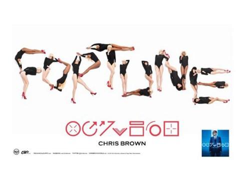 Chris Brown's 'Fortune' Promo Shots Conjure Robert Palmer