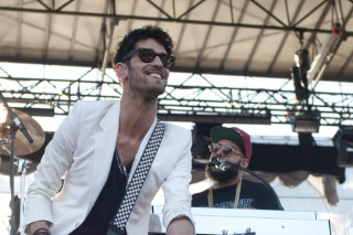 Chromeo Wakes Up The Crashing Crowd At The Governors Ball 2012