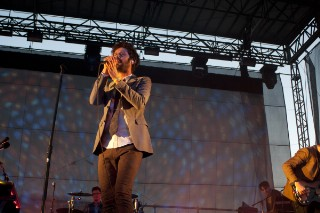 Passion Pit Shine At Night During The Governors Ball, Day One