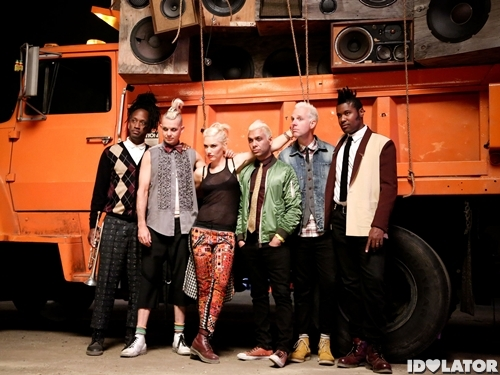 "No Doubt Shoot ""Settle Down"" Video"