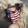Kesha flag face