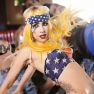 July 4th Lady Gaga Telephone Music Video