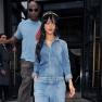 Rihanna Denim Jumper London