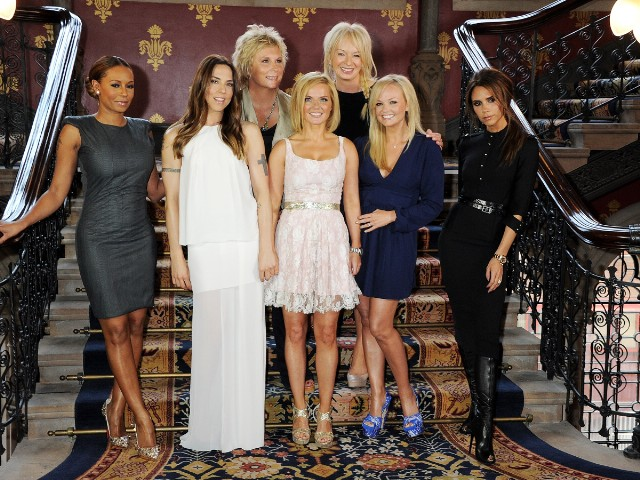 Spice Girls Promote 'Viva Forever'