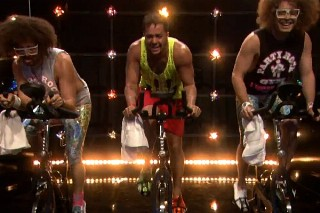 "LMFAO Enlist Jimmy Fallon For ""The Spin Bike Song"": Watch Their Hot Workout Video"