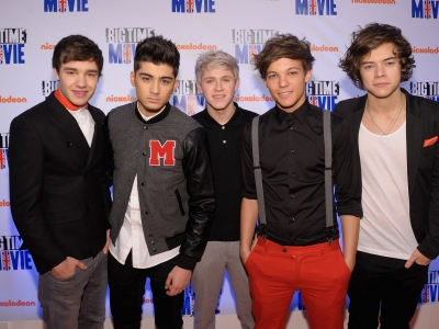 one direction nickeloden big time movie red carpet