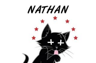 "Azealia Banks' Catty ""Nathan"" Single Artwork"