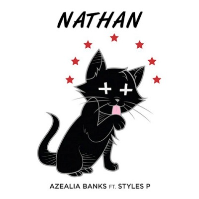 Azealia Banks Nathan single cover art artwork