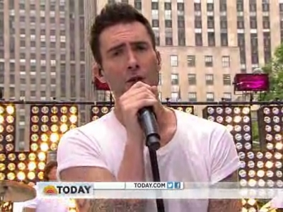 Maroon 5 Show Off Their Moves Like Jagger In All White On The 'Today Show'