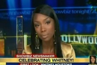 Brandy Talks Chris Brown, Lady Gaga And Whitney Houston On 'Showbiz Tonight