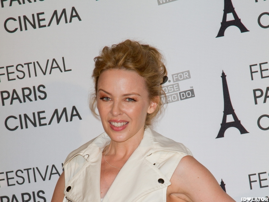 Kylie Minogue Looks Wonderful In White